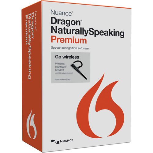 Nuance Dragon NaturallySpeaking 13 Premium Wireless