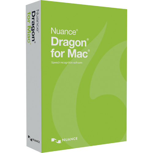 Nuance Dragon for Mac (Student/Teacher Edition, Boxed Version)