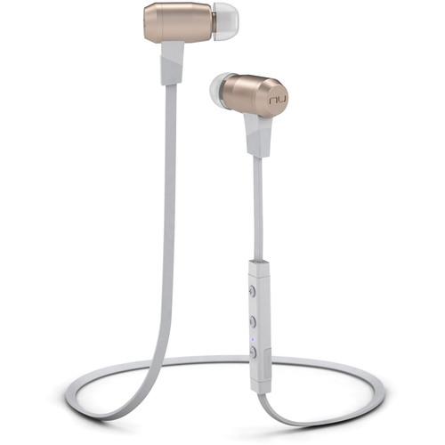NuForce BE6i Wireless Bluetooth In-Ear Headphones (Gold)