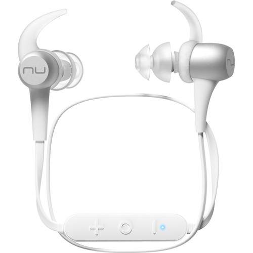 NuForce BE Sport3 Wireless In-Ear Sports Headphones (Silver)