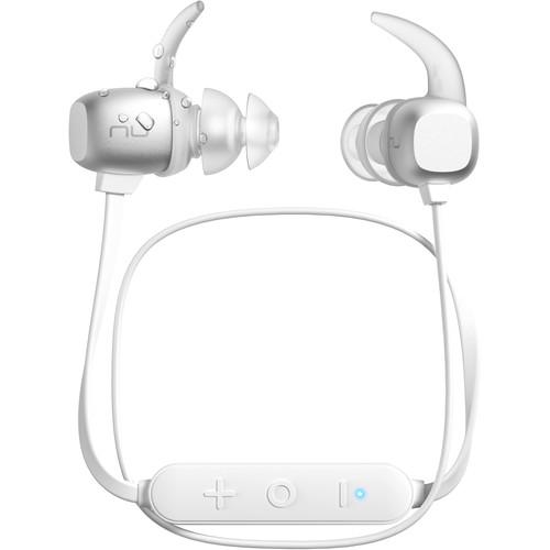 NuForce BE Sport4 Wireless In-Ear Headphones (Silver)
