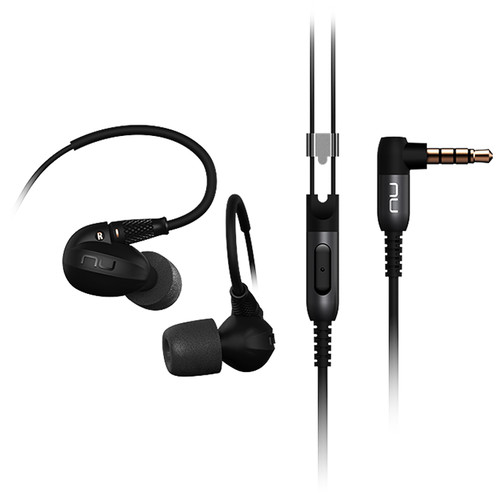 NuForce HEM6 Reference Class Hi-Res In-Ear Headphones (Black)
