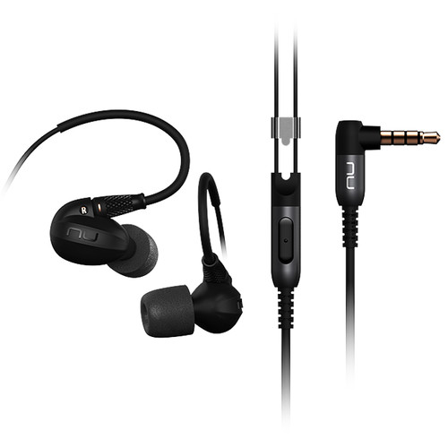 NuForce HEM8 Reference Class Hi-Res In-Ear Headphones (Black)