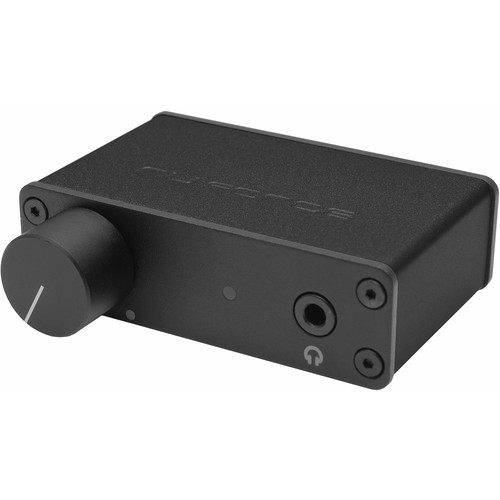 NuForce uDAC3 Mobile DAC and Headphone Amplifier (Black)