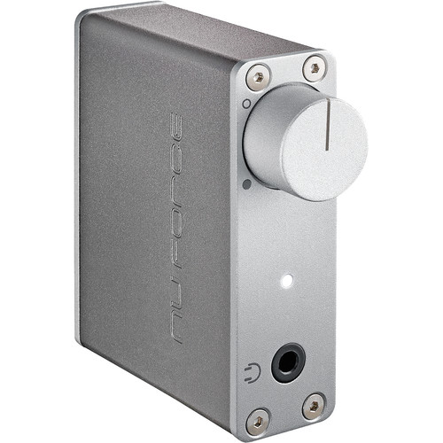 NuForce uDAC5 High-Resolution DAC and Headphone Amplifier (Silver)