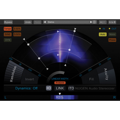 NuGen Audio Stereoizer - Stereo Image Enhancement Plug-In (Download)