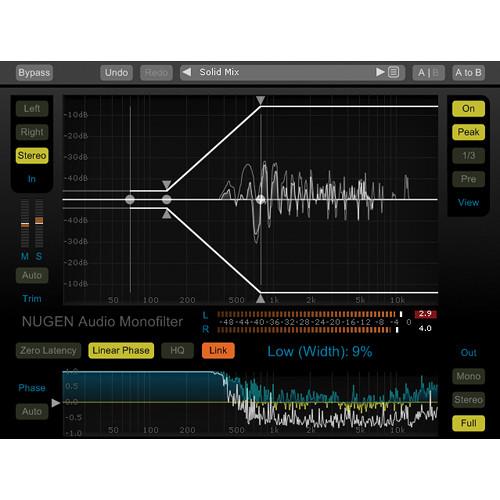NuGen Audio Monofilter - Bass Management Plug-In (Download)