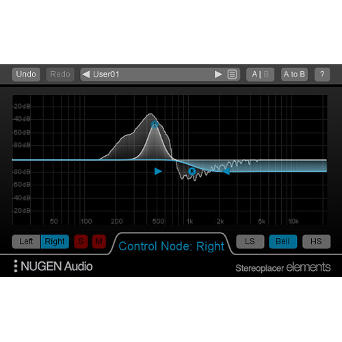 NuGen Audio Stereoplacer Elements - Stereo Positioning Pan Control Plug-In (Download)