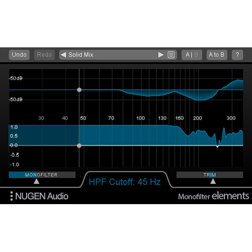NuGen Audio Monofilter Elements - Bass Management Plug-In (Download)