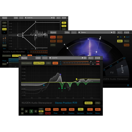 NuGen Audio Stereo Pack Upgrade - Stereo Enhancement and Control Plug-In Bundle (Download)