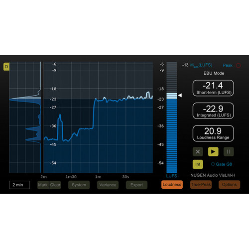 NuGen Audio VisLM-H 2 Upgrade - Industry Standard Loudness Metering (Download)
