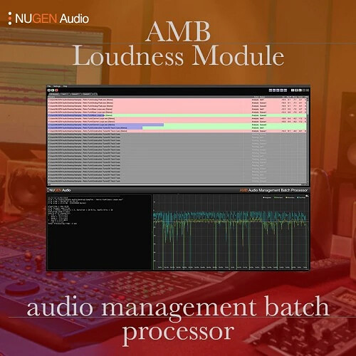 NuGen Audio AMB Loudness Module - Loudness Batch-Processing Software (Download)