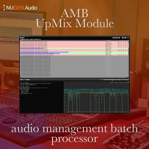 NuGen Audio AMB Upmix Module - Automated Audio Upmixing Software (Download)