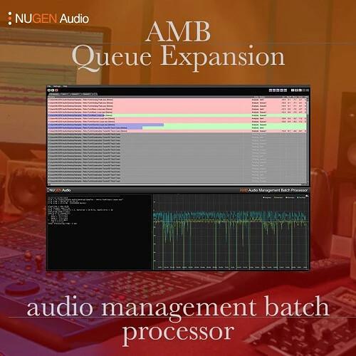 NuGen Audio AMB Queue Expansion - Additional Watch Folder/Processing Queue (Download)