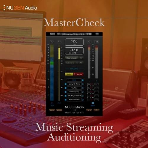 NuGen Audio MasterCheck Pro - Loudness Metering Plug-In (Download)