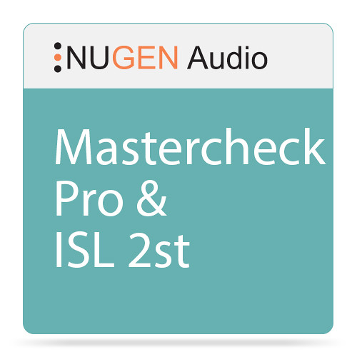 NuGen Audio MasterCheck Pro and ISL 2st Plug-In Bundle (Download)