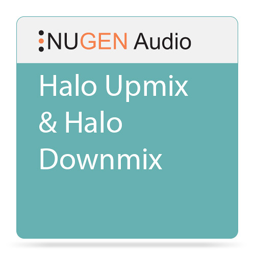 NuGen Audio Halo Upmix & Halo Downmix - Software Suite for Post-Production Sound Design (Download)