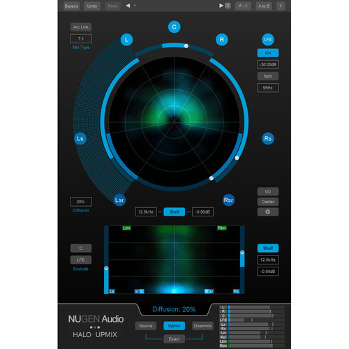 NuGen Audio Halo Upmix 3D Immersive Extension (Download)