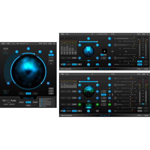 NuGen Audio Halo Upmix and Halo Downmix Plug-Ins both with 3D Immersive Extension Bundle (Download)