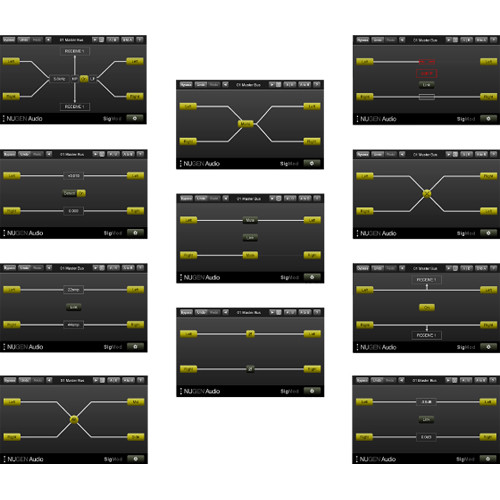 NuGen Audio SigMod - Modular Signal Flow Modification Software for Pro Audio Applications (Download)