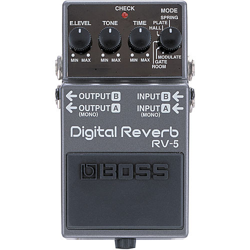 Roland RV-5 Digital Reverb Pedal