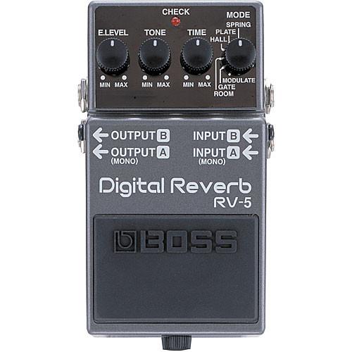 Roland RV-5 Digital Reverb Pedal