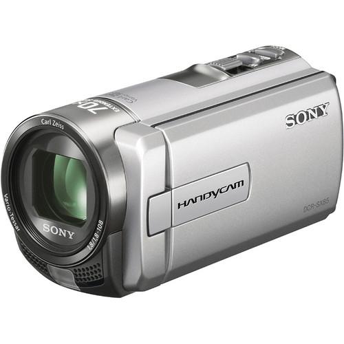 Sony 16GB DCR-SX85 Camcorder (Silver)