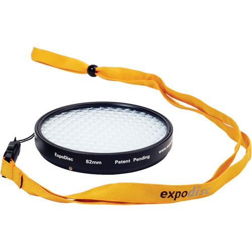 ExpoImaging 82mm ExpoDisc Digital Warm Balance Filter (Portrait)