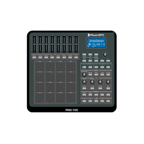 MusicXPC PMC-100 16-PAD TRIGGER CONTROLLER