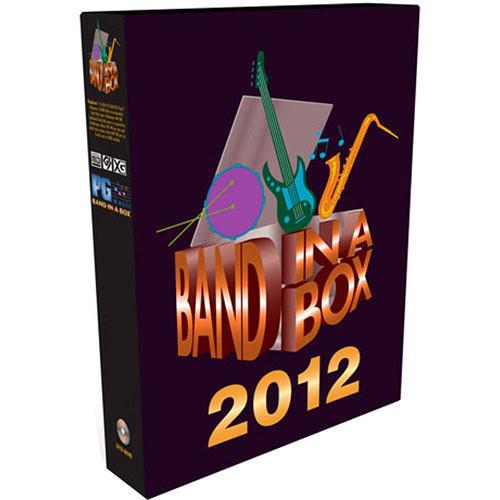 PG Music BAND-IN-BOX 2012 MEGAPAK 5-USER LAB/W