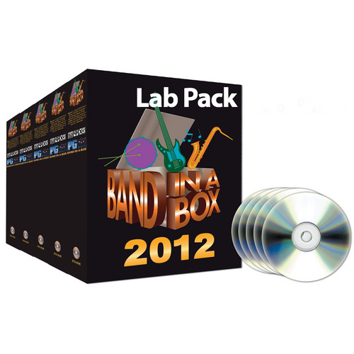 PG Music BAND-IN-BOX 2011.5 5-USER LAB PACK/MAC