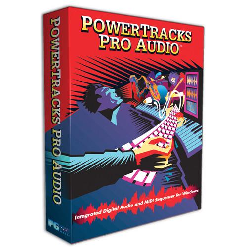 PG Music POWERTRACKS PRO AUDIO POWERPAK 2012 UG