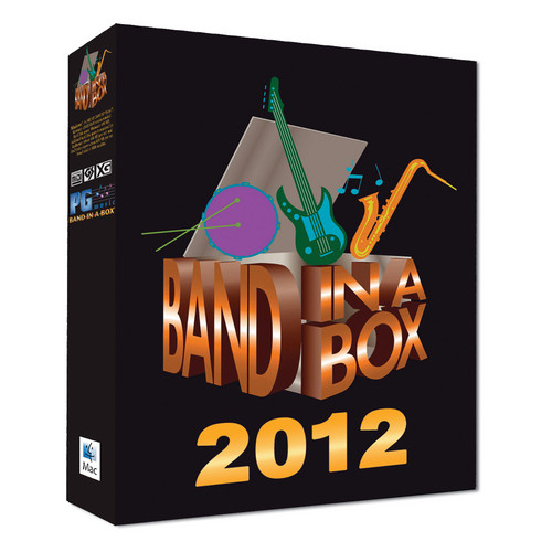 PG Music BAND-IN-A-BOX PRO 2012 MAC - DVD