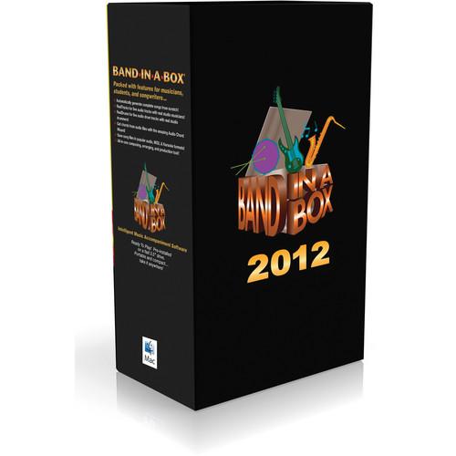 PG Music BAND-IN-BOX 2012 ULTPLS PK-UPGD-MAC HD