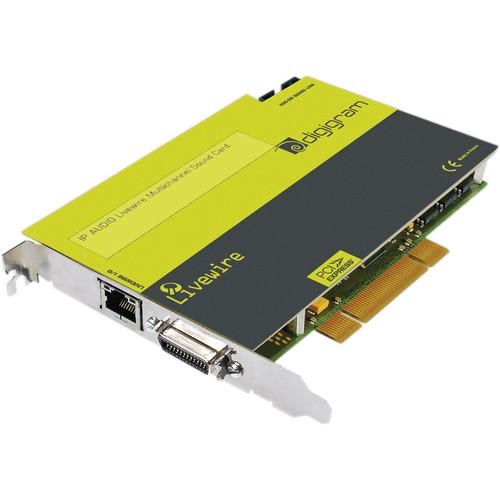 Digigram VX-LW2121e 2-LIVEWIRE OUTS/12-INS/PCIe