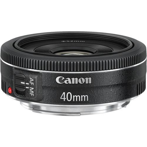 Canon 40mm EF F/2.8 STM PANCAKE LENS