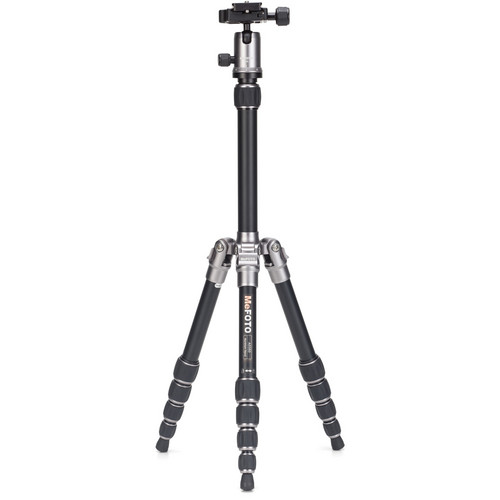 Benro BackPacker Travel Tripod (Titanium)