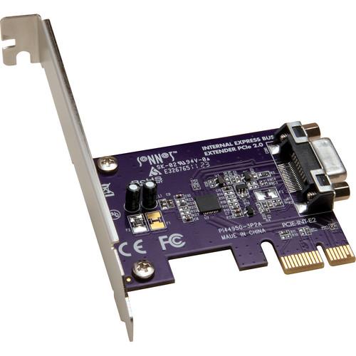 Sonnet PCIe BUS XTNDR CARD 2.0 EXTRNL f/QioMR