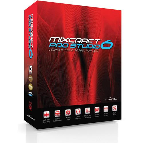 Acoustica PRO STUDIO MIXCRAFT 6 - ACADEMIC EDITN