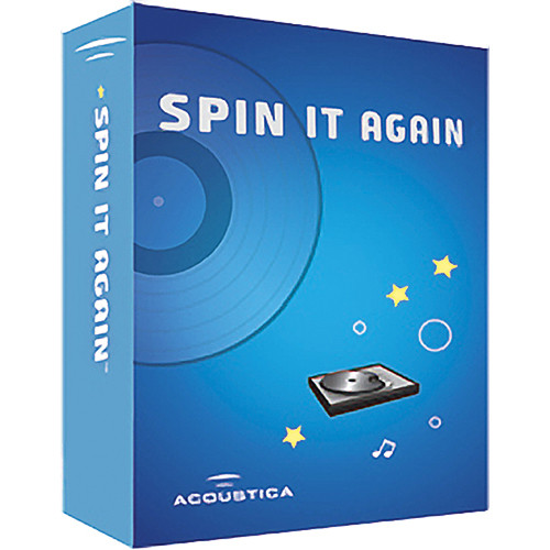 Acoustica SPIN IT AGAIN LP/CD/MP3 TRANSFER SFTWR