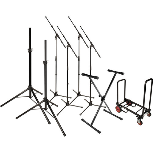 Ultimate Support 17507 - STAGE PACK STAND BUNDLE