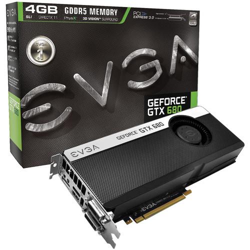 EVGA GEFORCE GTX680 GRAPHIC CARD 4GB GDDR5