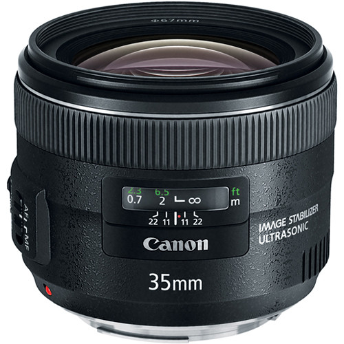 Canon 35mm f/2 IS EF USM LENS