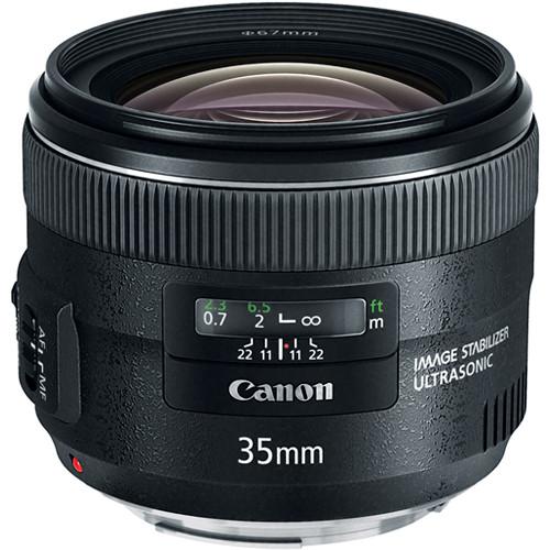 Canon 35mm f/2 IS EF USM LENS