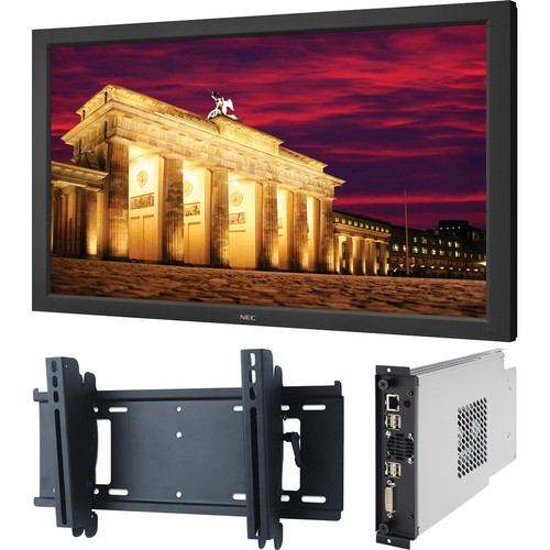 "NEC 46"" PUBLIC LCD DISPLAY MONITOR BUNDLE"