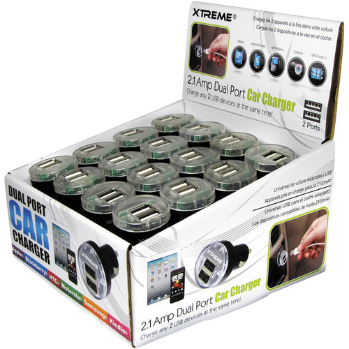 Xtreme Cables UNIVERSAL USB/CAR CHARGER TRAY (24-PC)