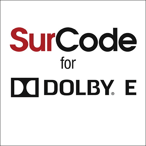 SurCode EN/DECODER f/DOLBY E/LICENCE-CERTIFIED