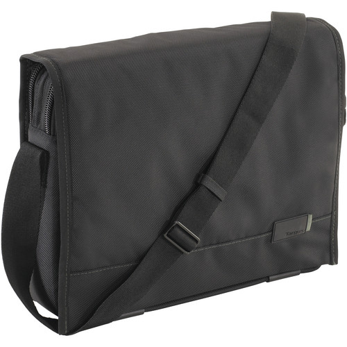 "Targus 14"" UNOFFICIAL MESSENGER BAG - BLACK"