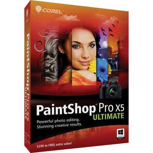 Corel PAINTSHOP PRO X5 ULTIMATE EN MINIBOX/W
