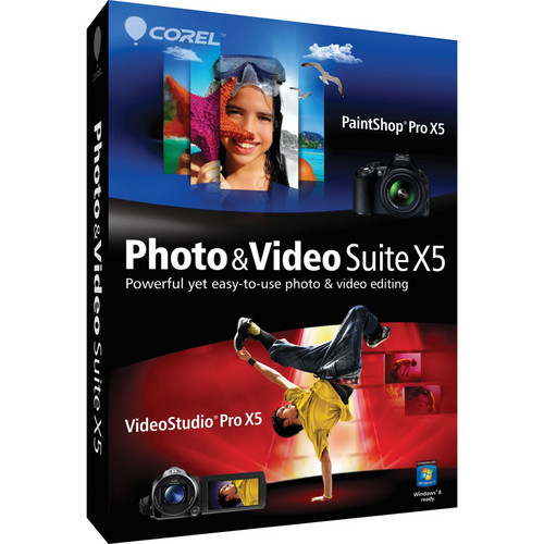 Corel PHOTO & VIDEO BUNDLE X5 EN MINI-BOX/W